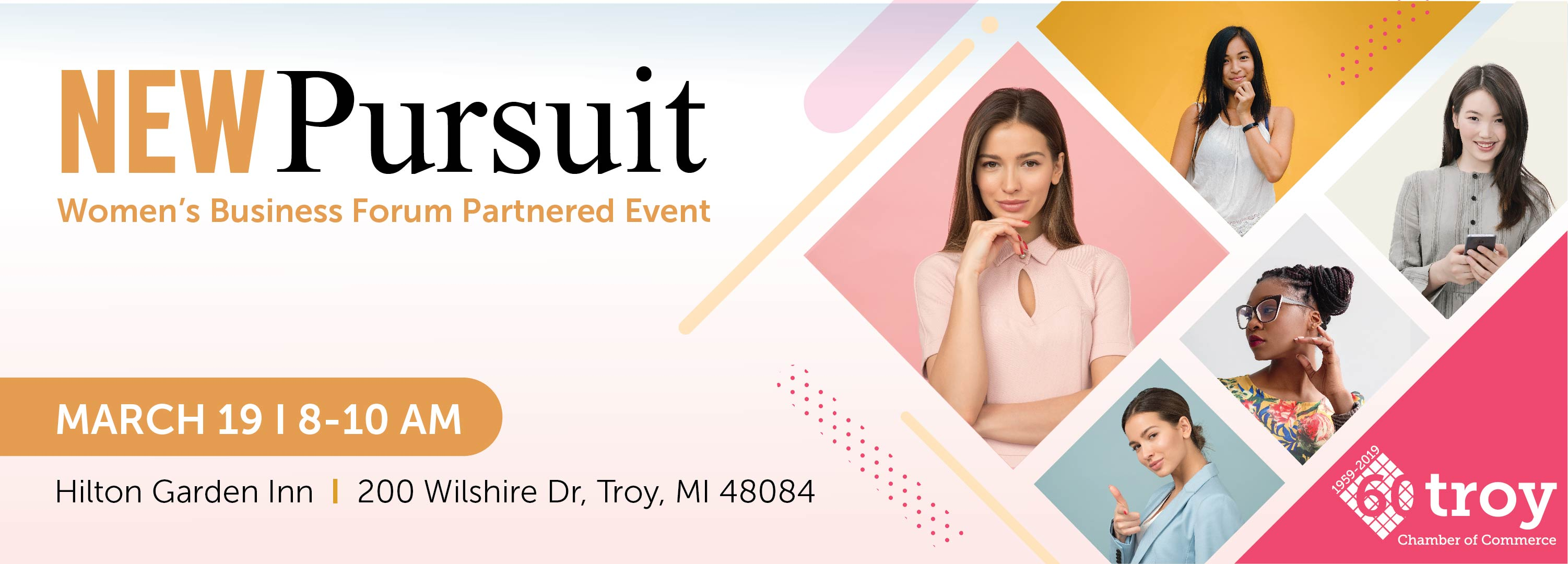 Women's Business Forum Presents: New Pursuit
