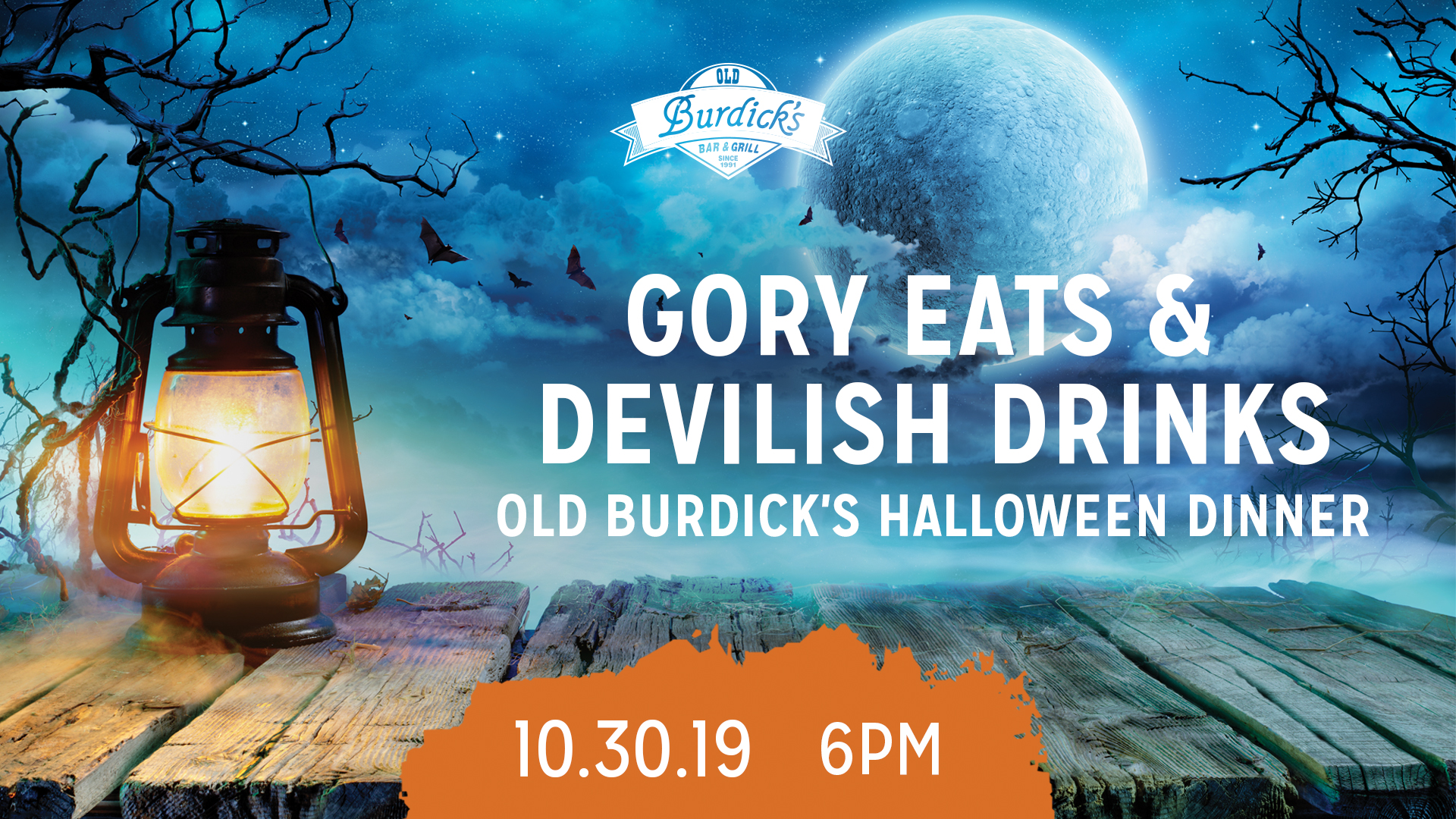 Gory Eats & Devilish Drinks Halloween Dinner