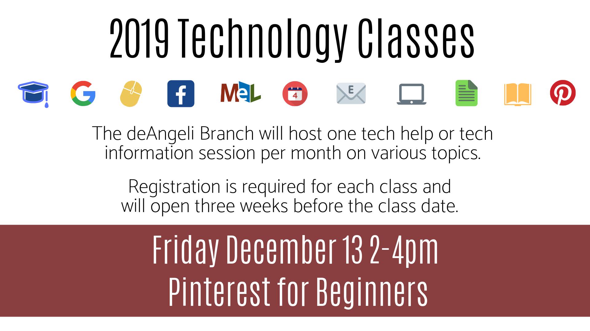 Pinterest for Beginners Technology Session