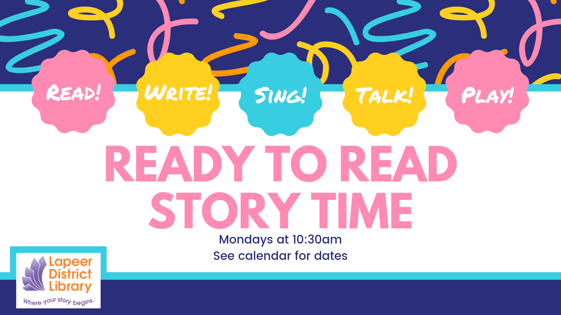 Ready to Read Storytime!