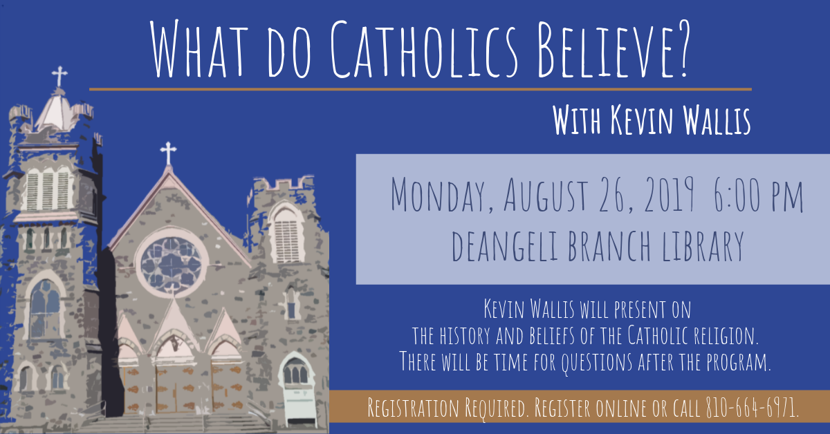 What do Catholics Believe? with Kevin Wallis