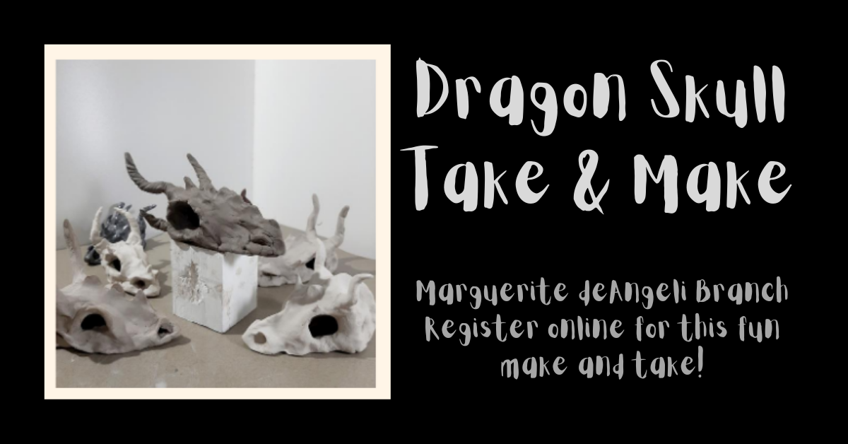 Dragon Skull Take  & Make