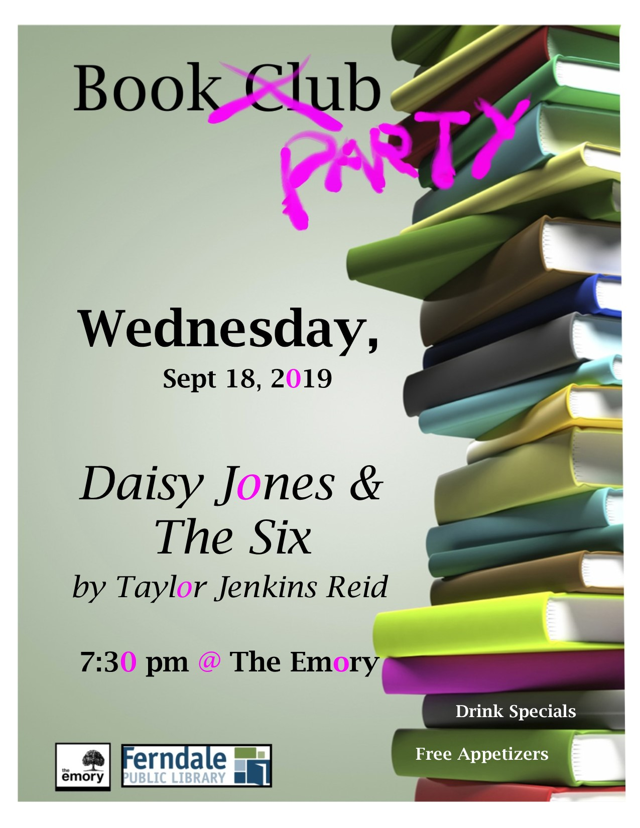 Book Party @ The Emory