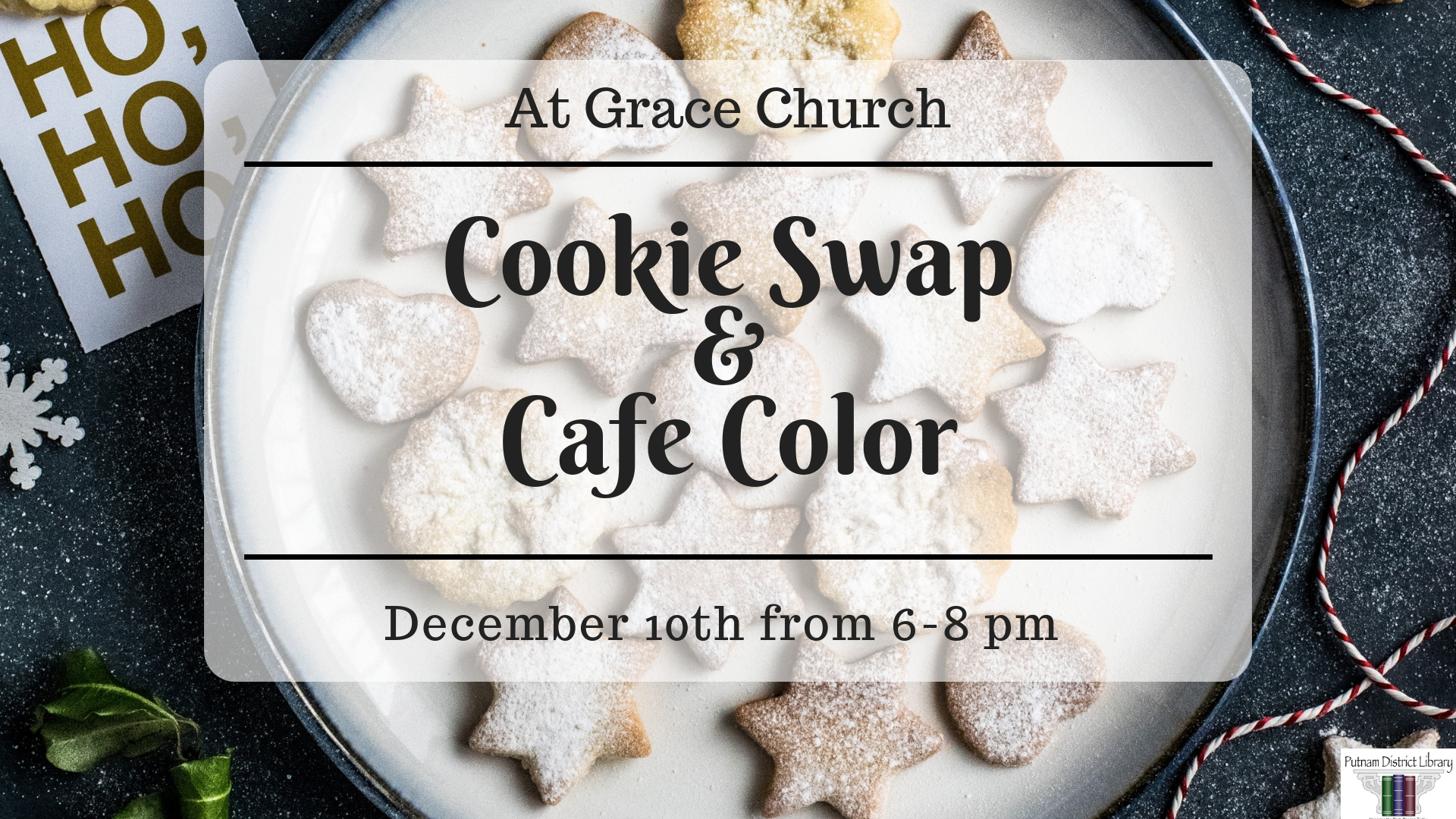 Cookie Swap and Cafe Color