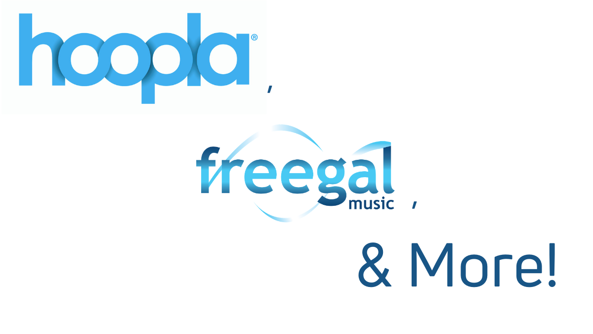 Hoopla, Freegal, and More! – Virtual Event