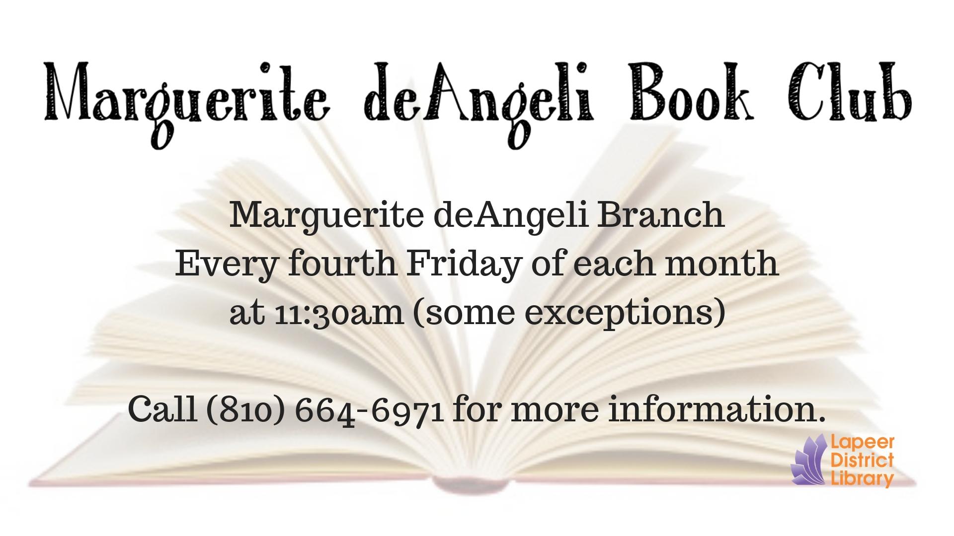 deAngeli Branch Book Club