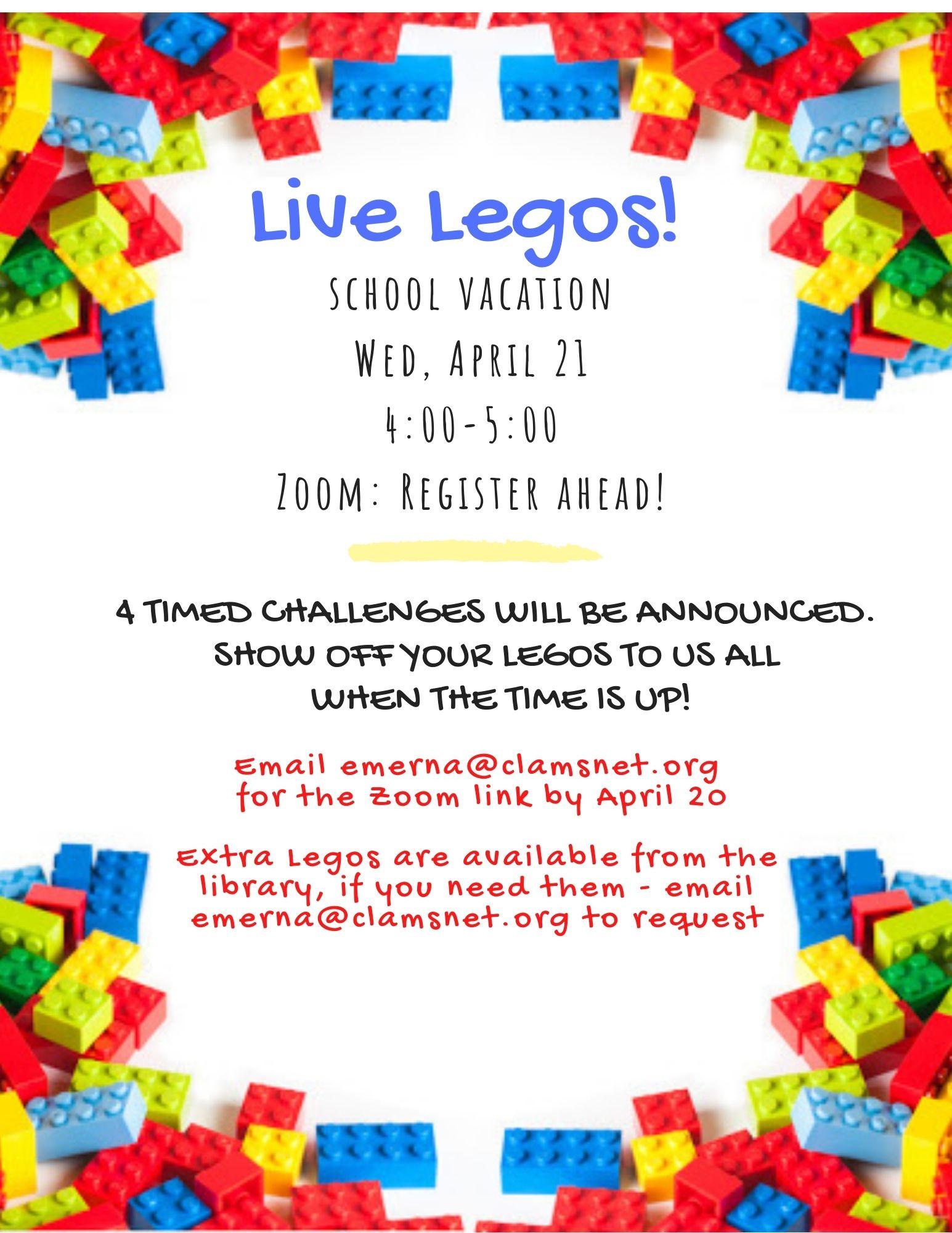 Live Legos!
