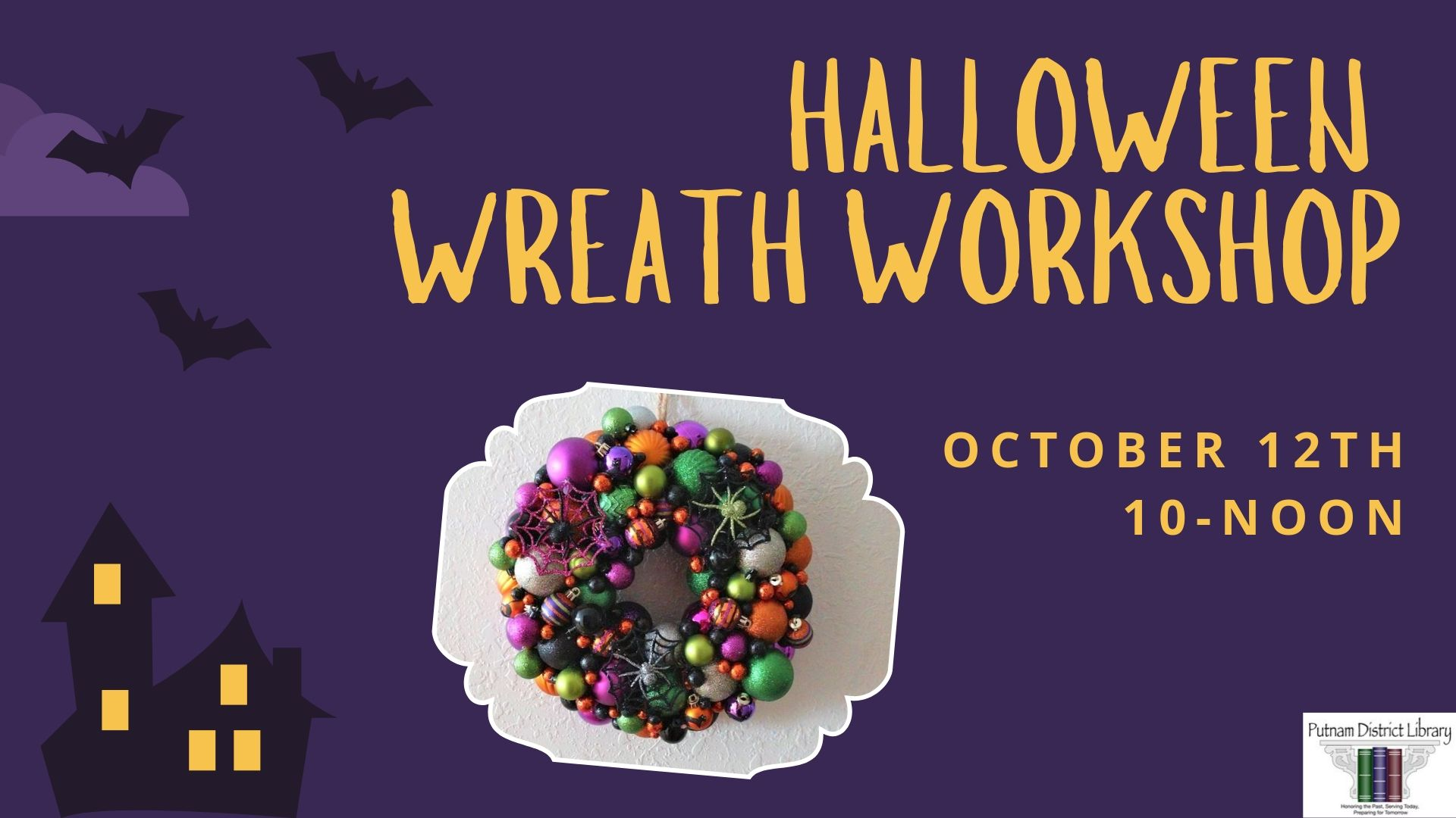 Halloween Wreath Workshop