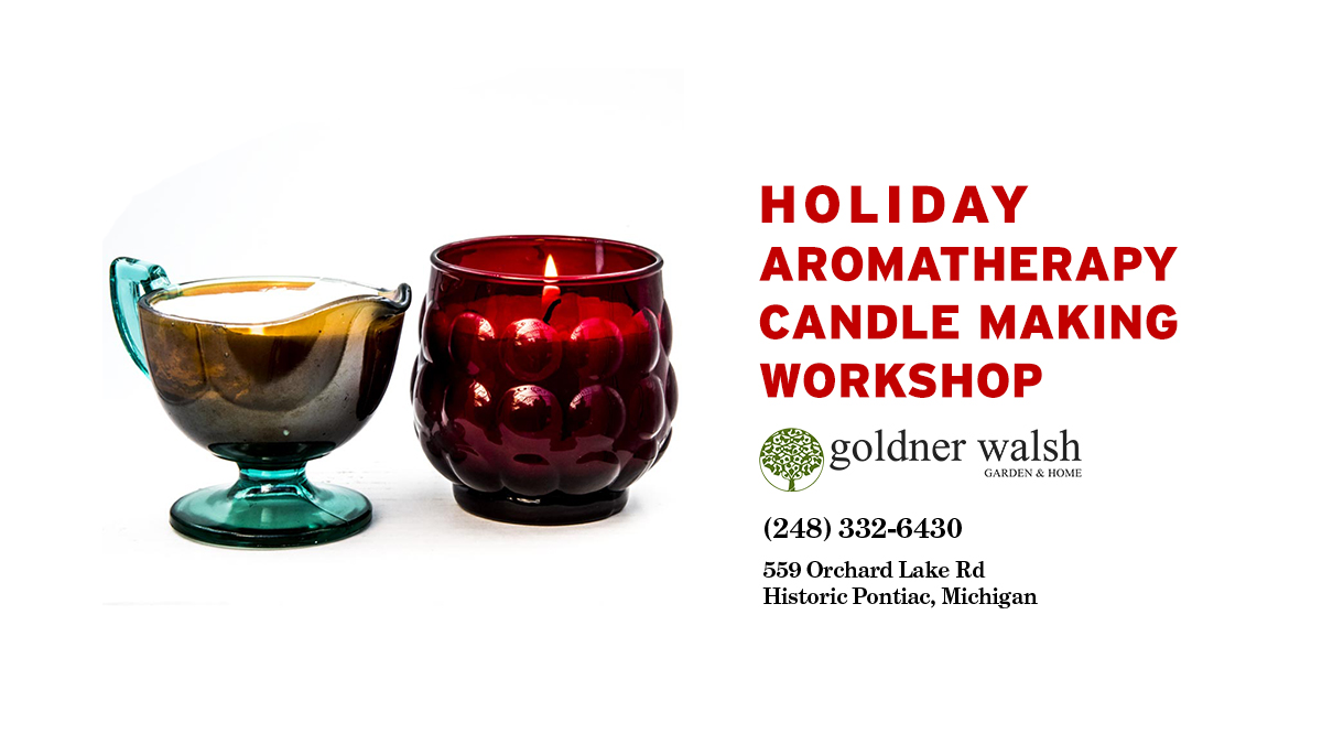 Holiday Aromatherapy Candle Making Workshop