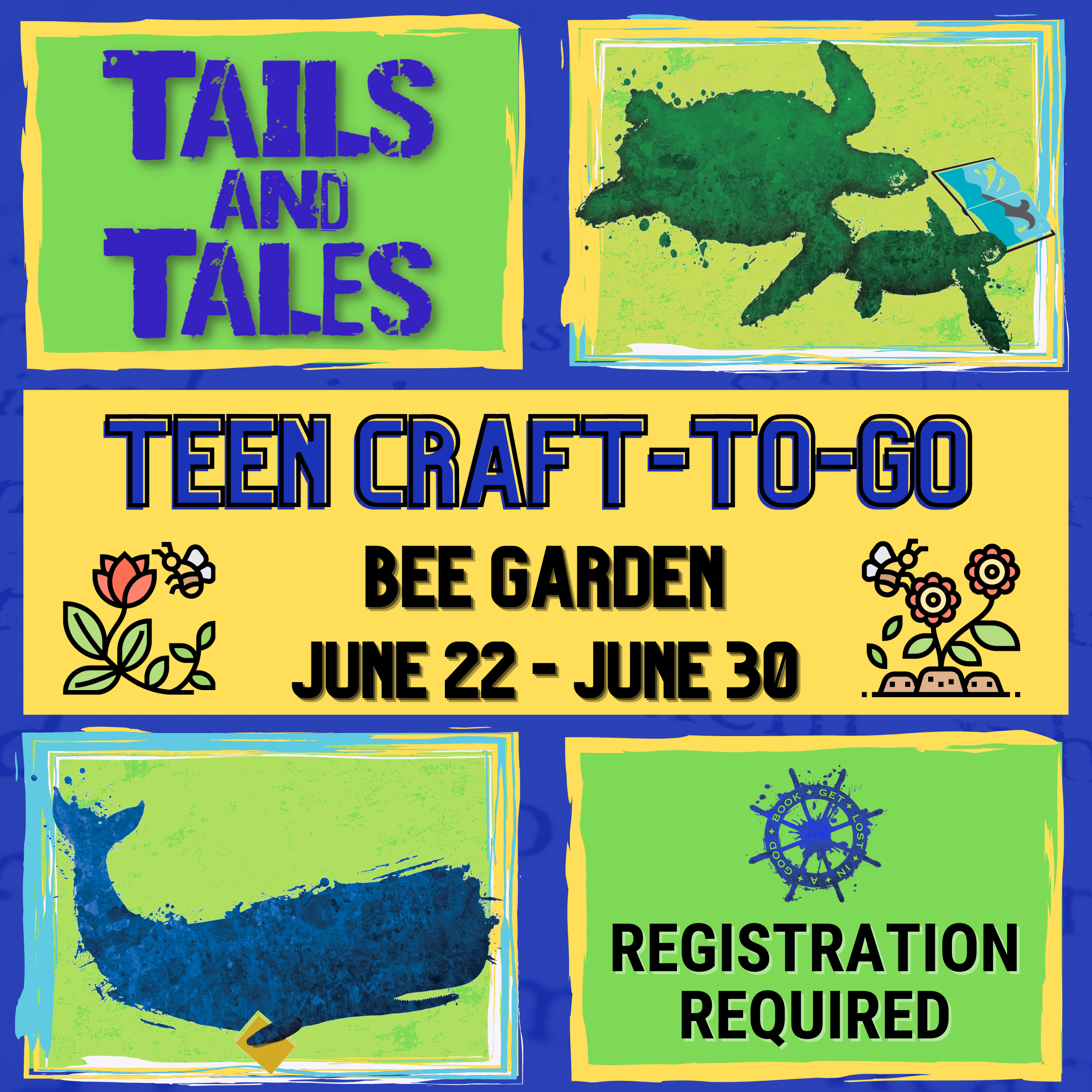 Teen Craft-To-Go: Bee Gardens