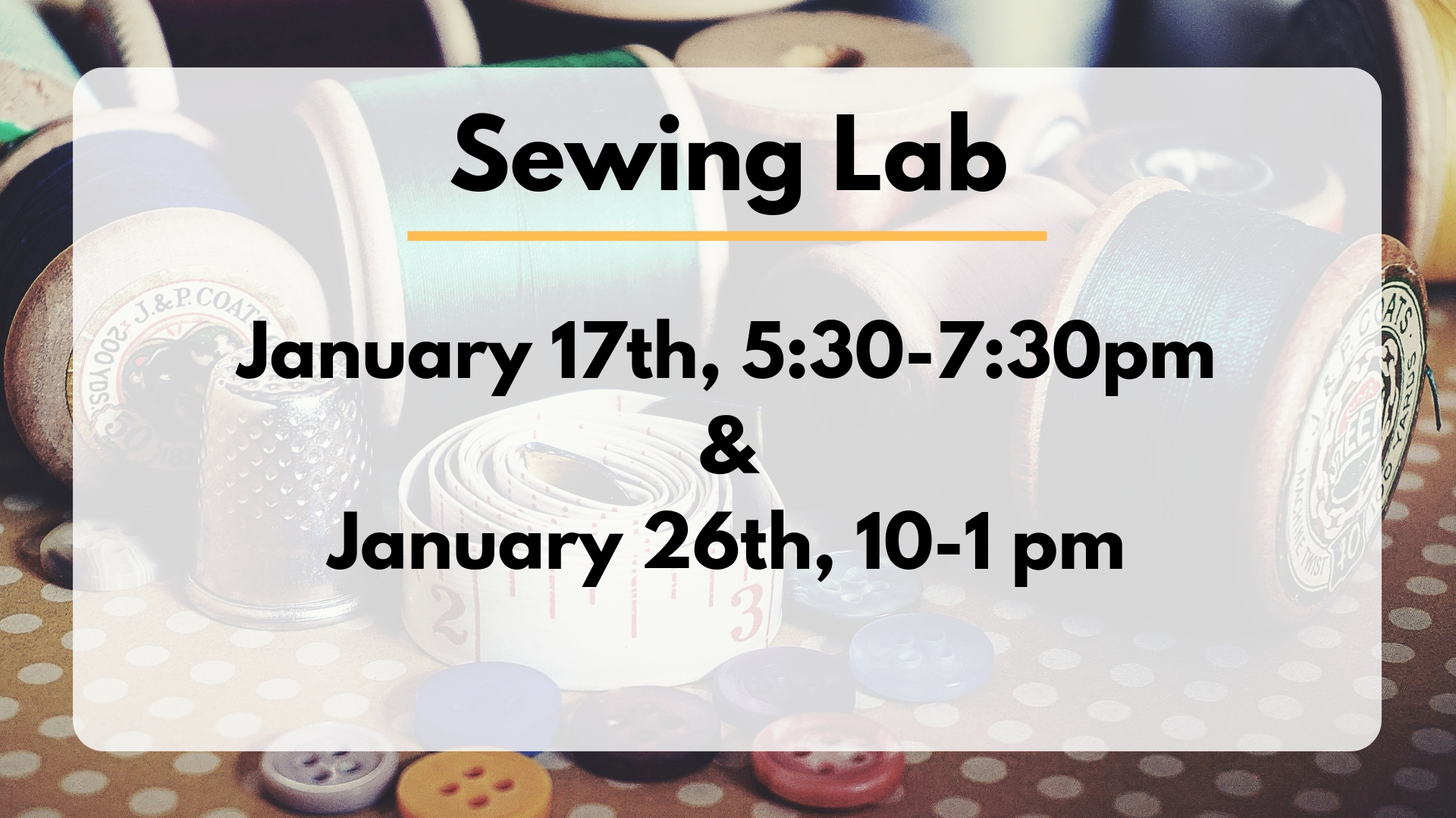 Sewing Lab and Driving School
