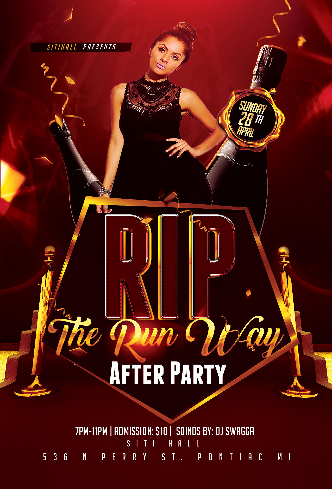 THE RUN WAY AFTER PARTY