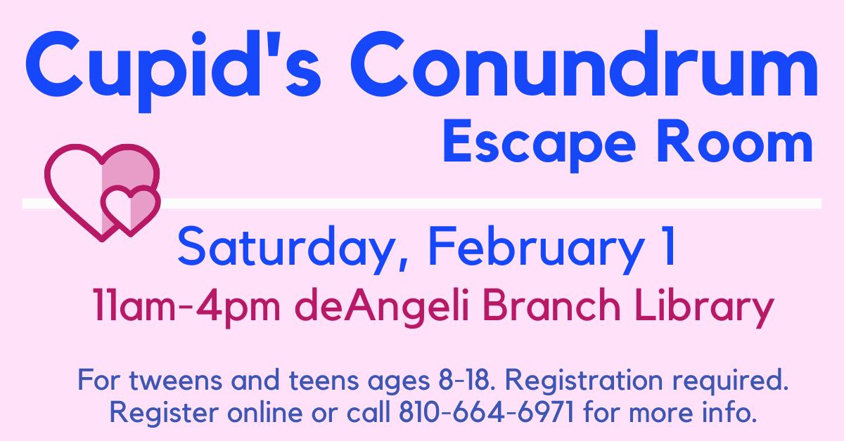 Cupids Conundrum Escape Room