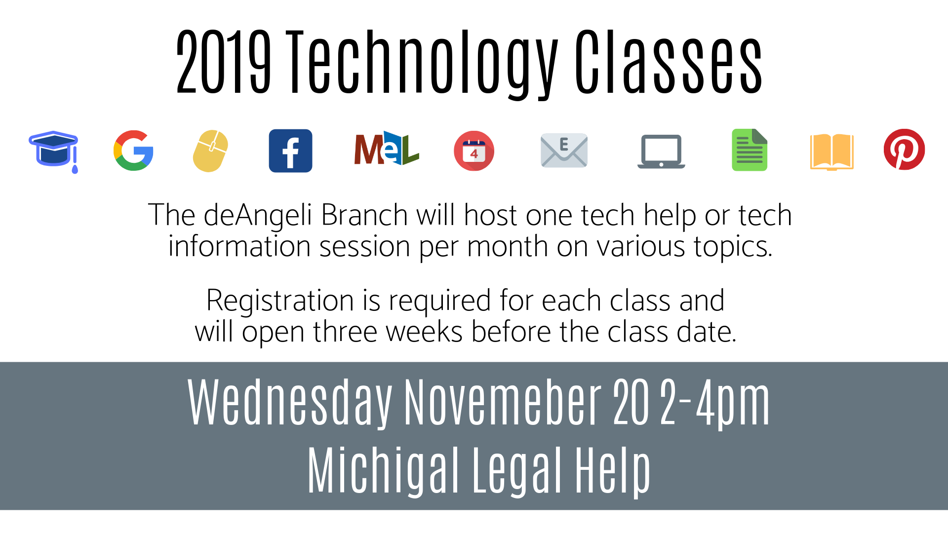 Michigan Legal Help Technology Session