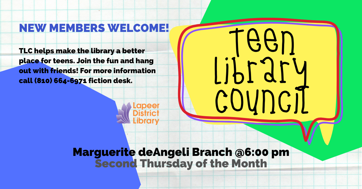 TLC (Teen Library Council)