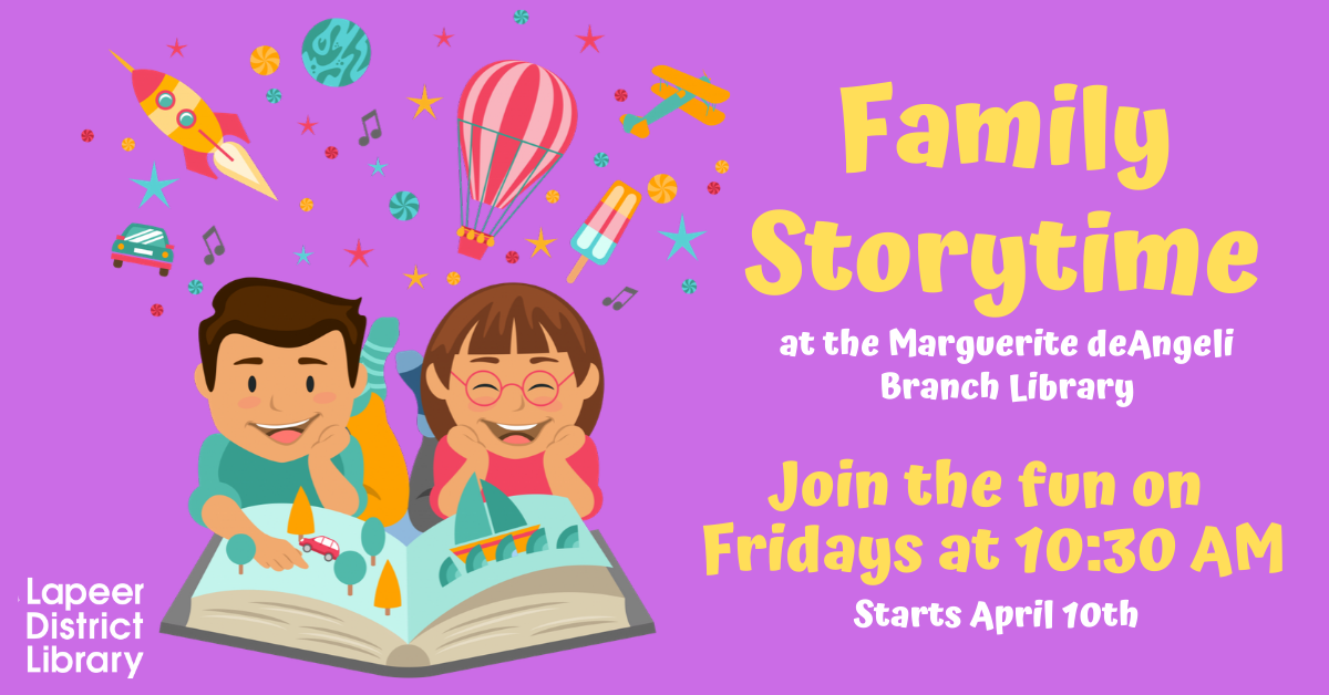 CANCELLED Family Story Time Spring