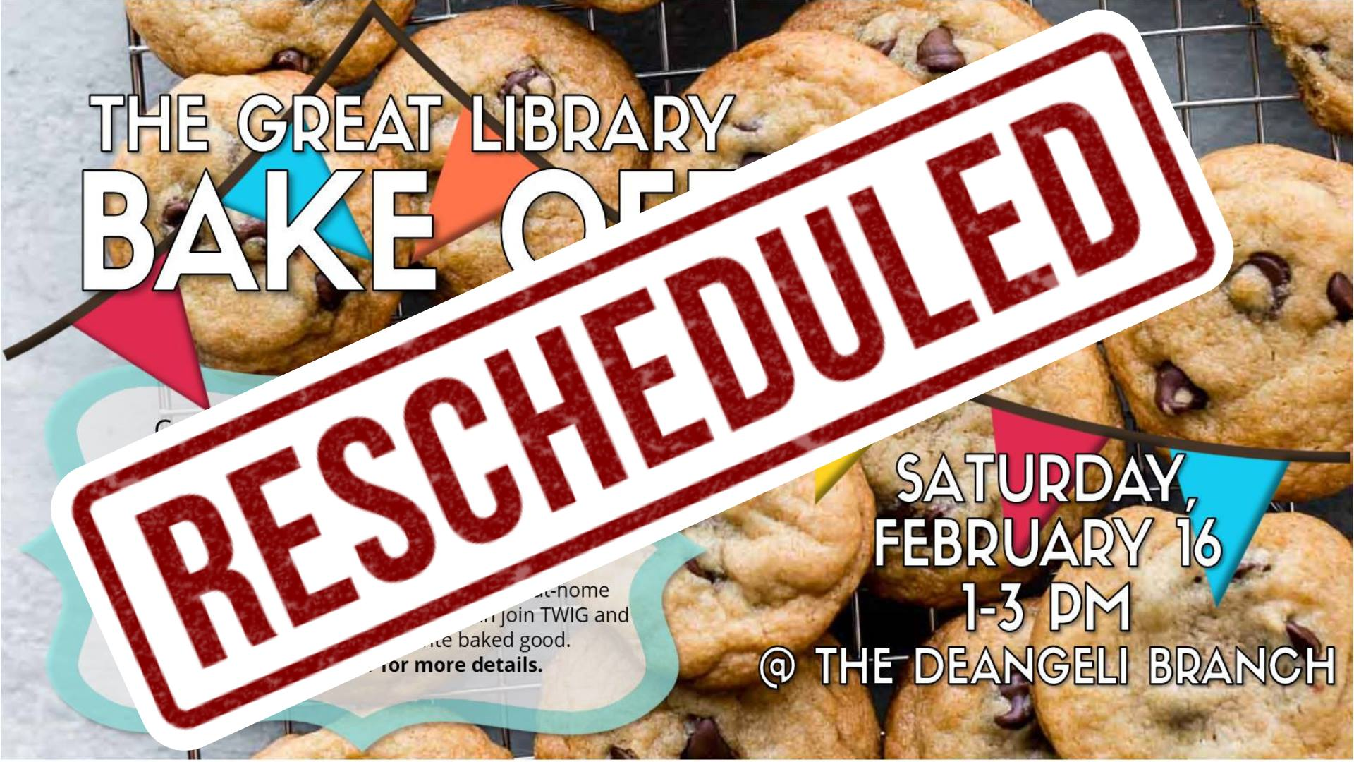 The Great Library Bake Off