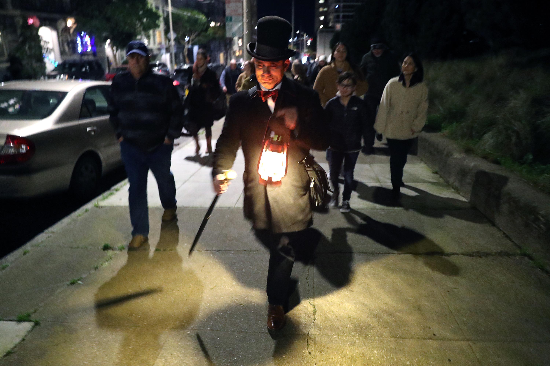 Downtown Pontiac Walking Ghost Tour