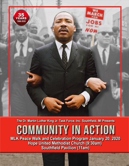 MLK Peace March