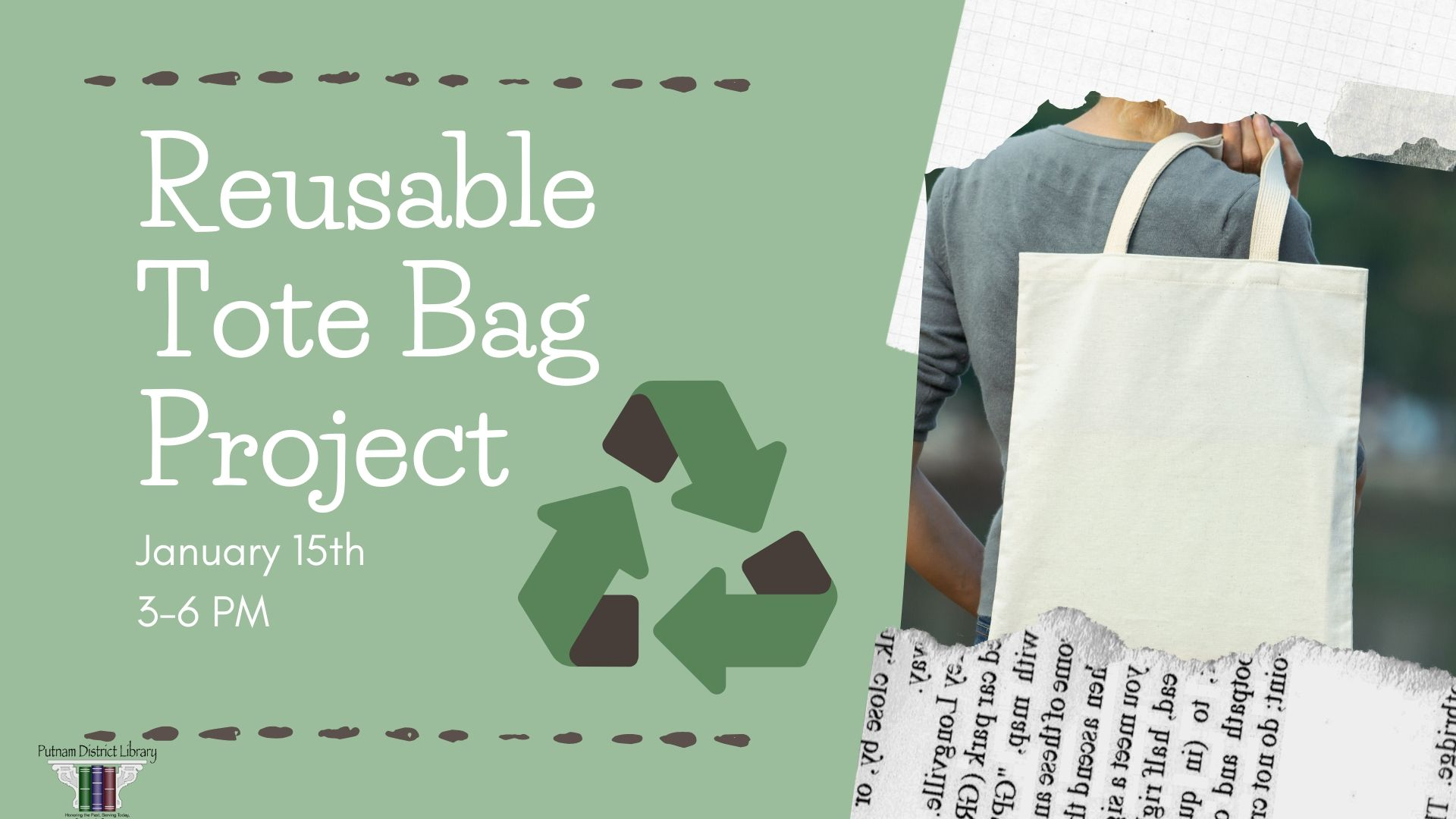 Reusable Tote Bag Project