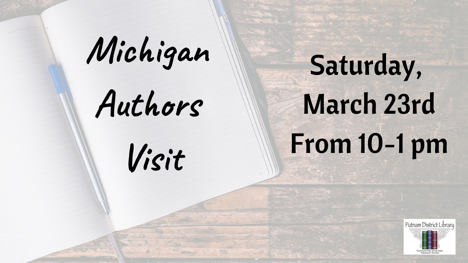 Michigan Authors Visit