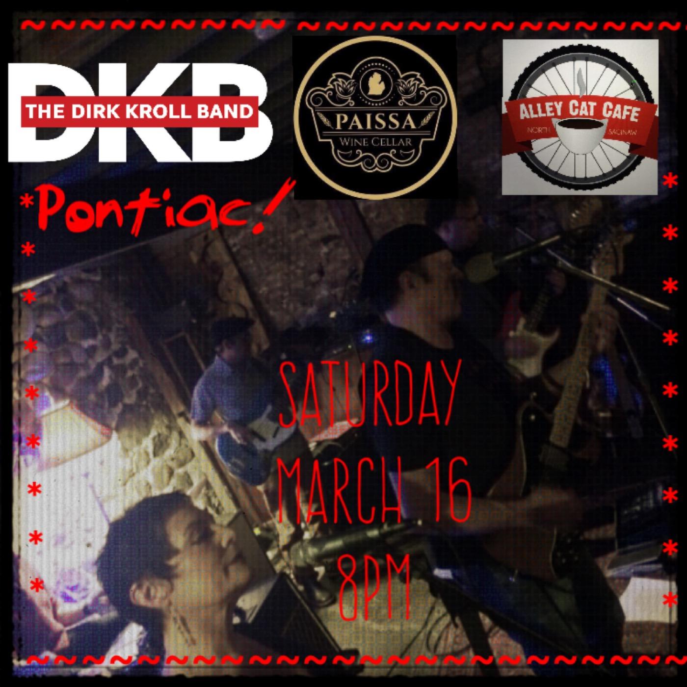 THE DIRK KROLL BAND live! @ Paissa Wine Cellar