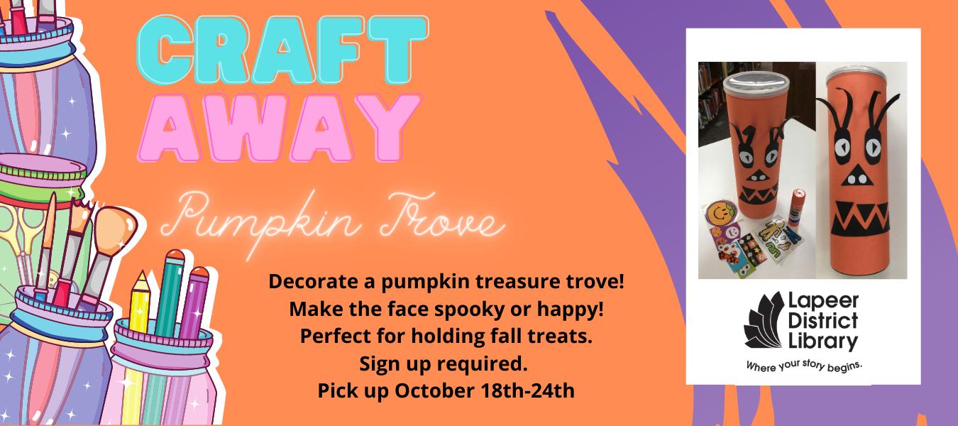 Craft Away Pumpkin Trove