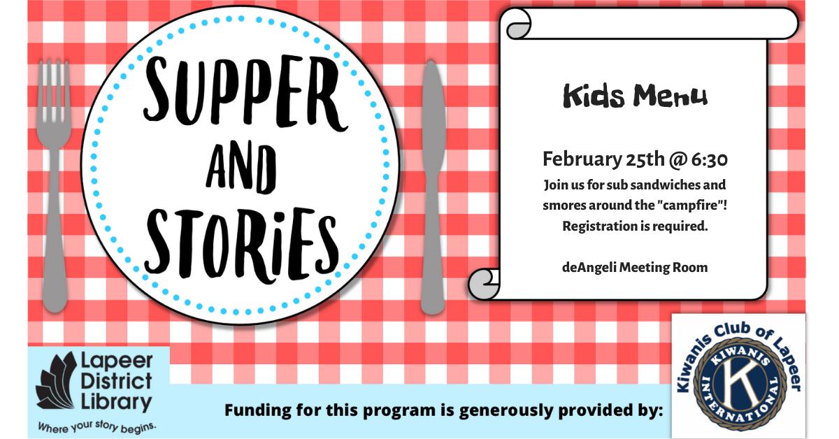 Supper & Stories: Sub Sandwiches