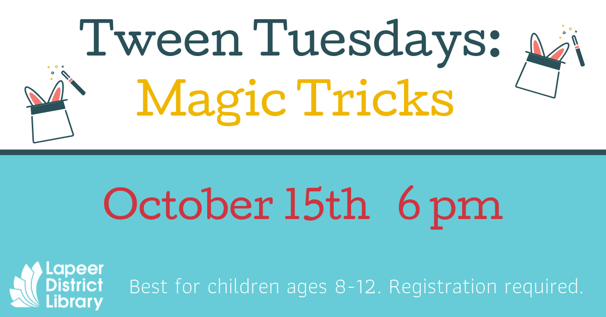 Tween Tuesdays: Magic Tricks