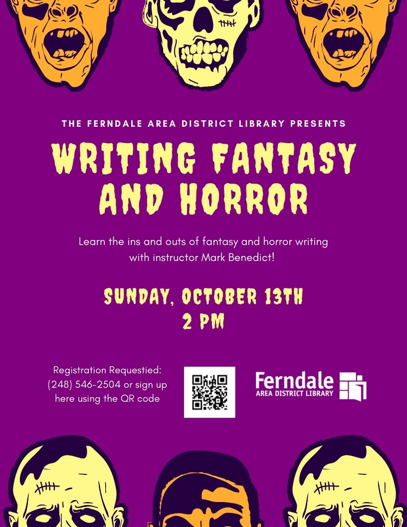 Writing Fantasy and Horror