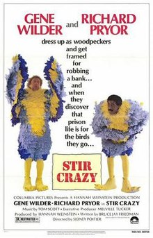 Black History on the Silver Screen: Stir Crazy (1980) (Rated R)