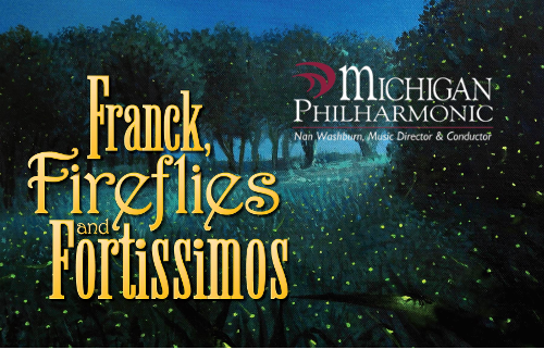Franck, Fireflies, and Fortissimos