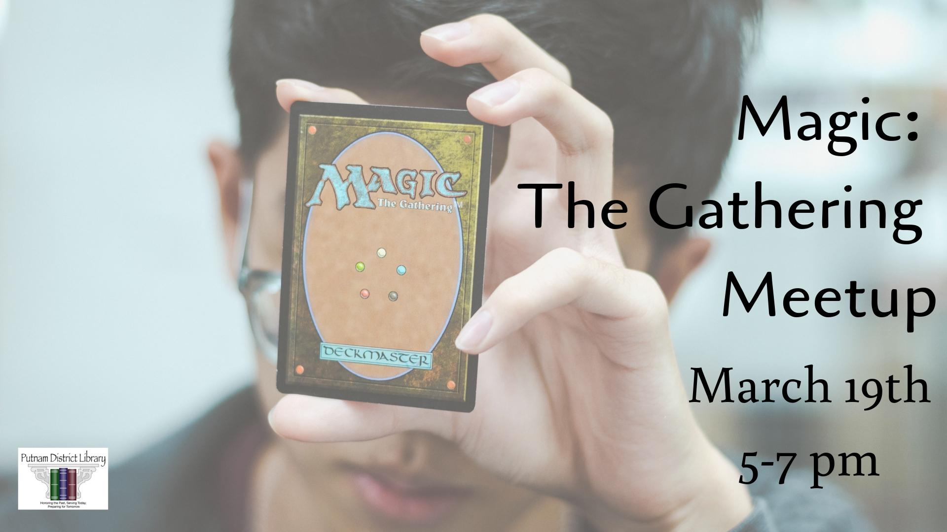 Magic the Gathering Meetup