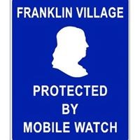 Franklin Village Mobile Watch monthly meeting