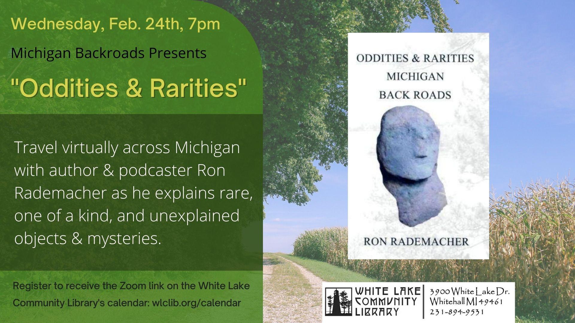 Michigan Backroads - Oddities and Rarities