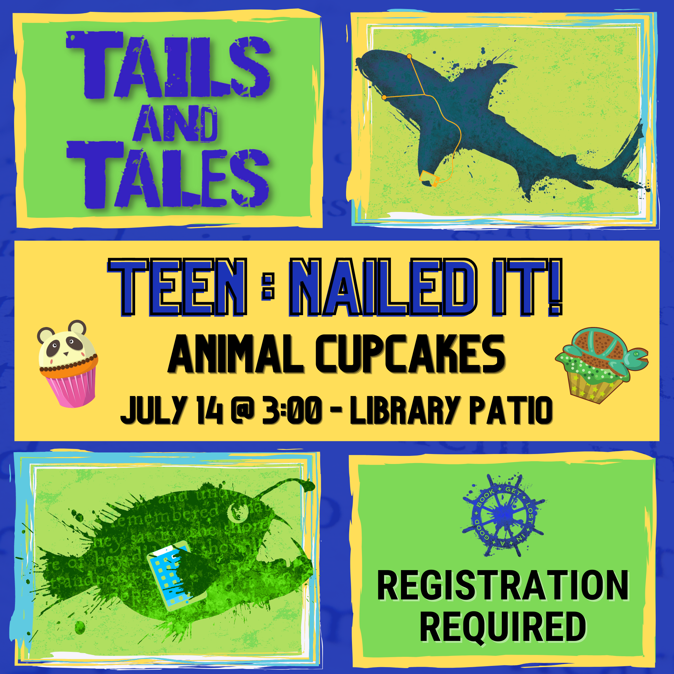 Teen:  NAILED IT: Animal Cupcakes