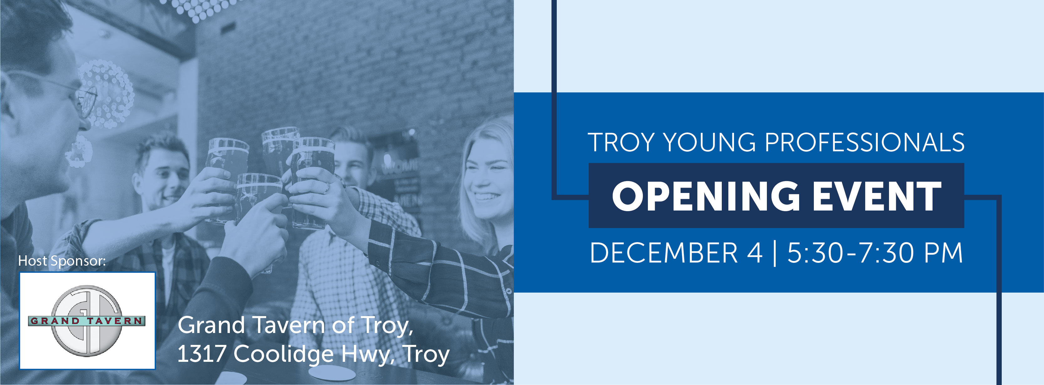 Troy Young Professionals Network: Opening Event