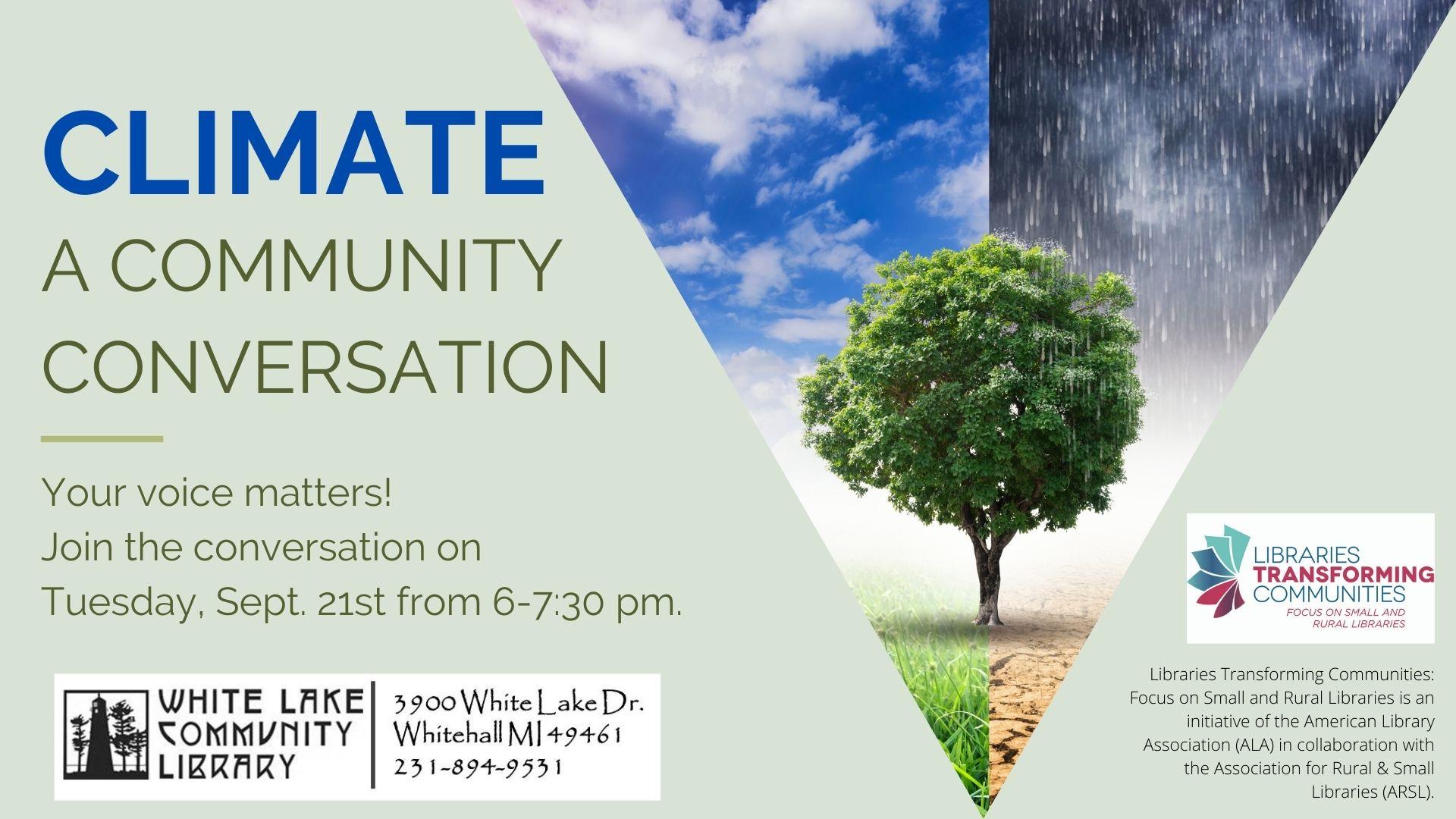 Community Conversation on Climate