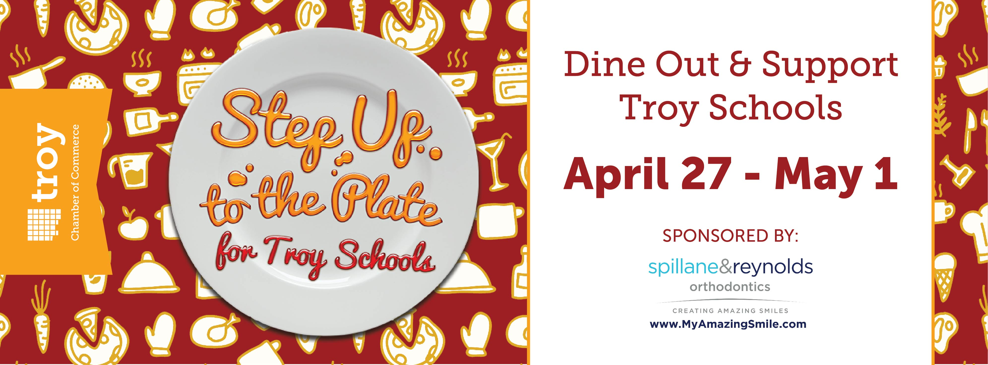 Step Up to the Plate for Troy Schools