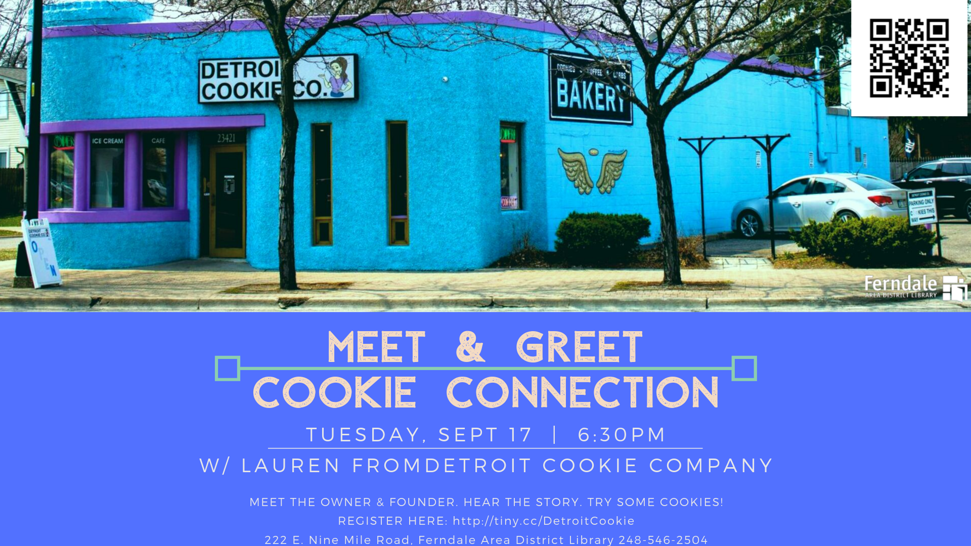 Detroit Cookie Co. Meet and Greet
