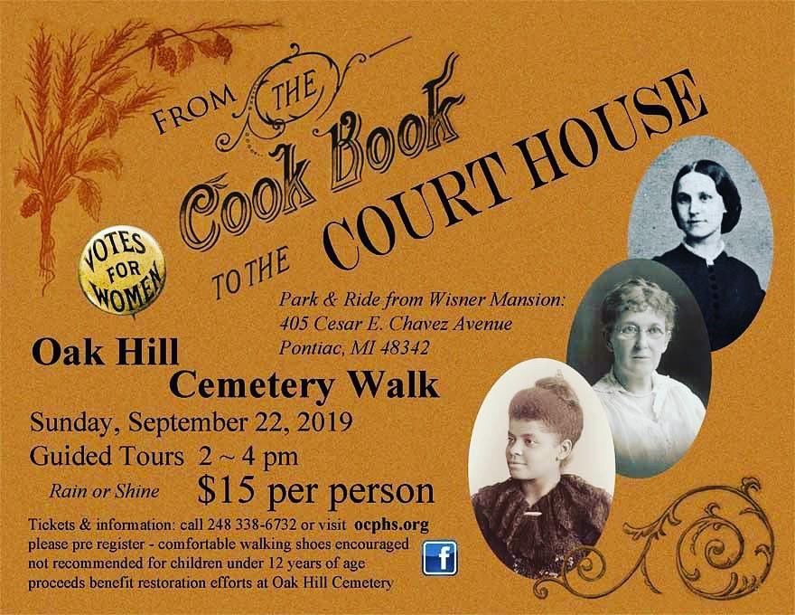 Oak Hill Cemetery Walk