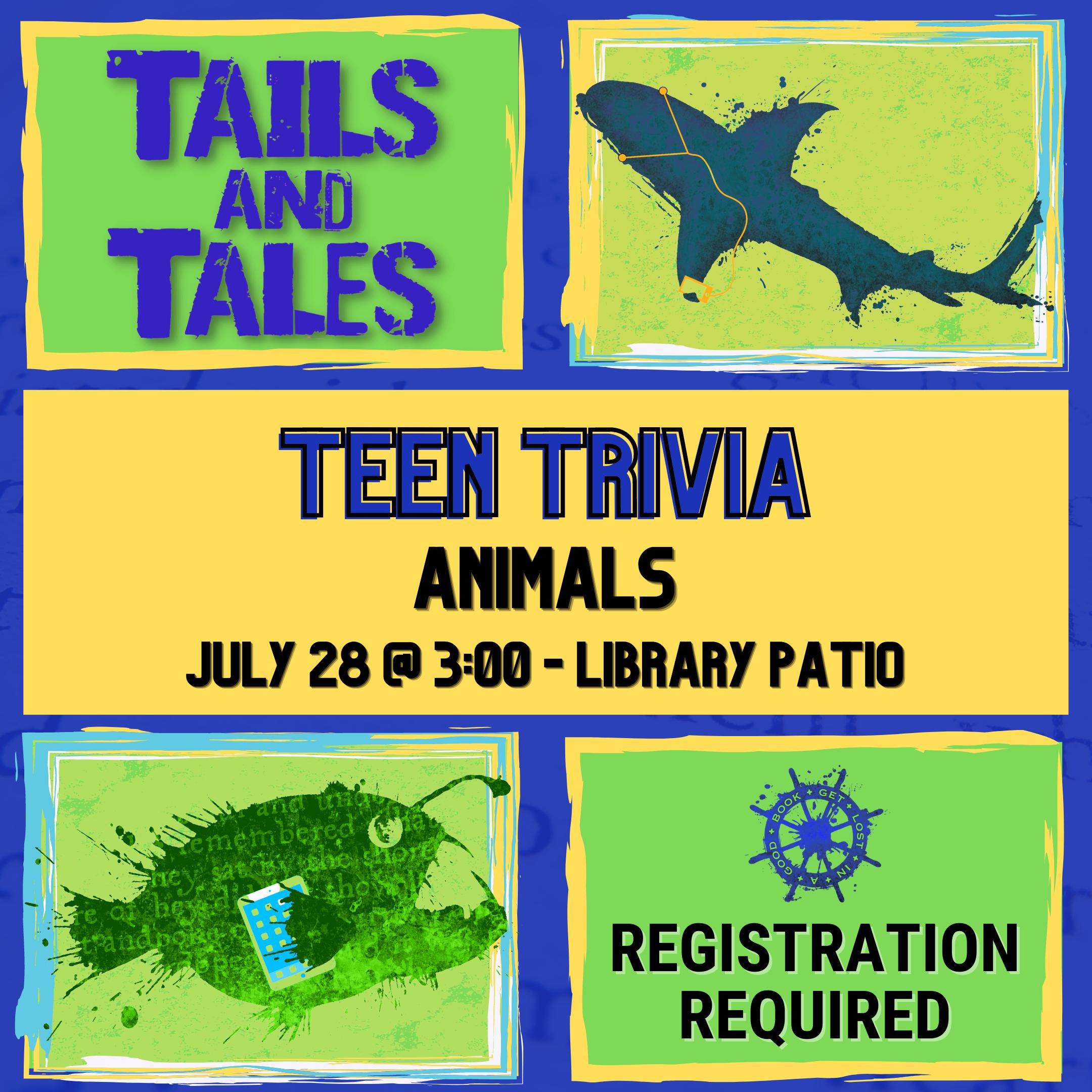 Teen Trivia: Animals