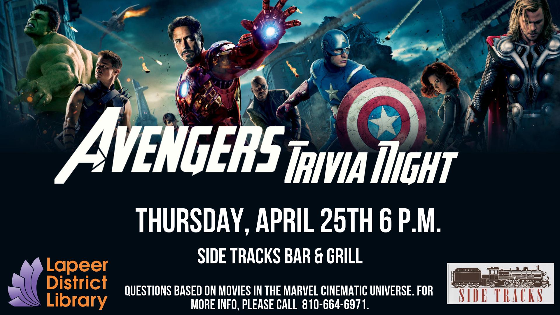 Trivia Night at Side Tracks Bar & Grill