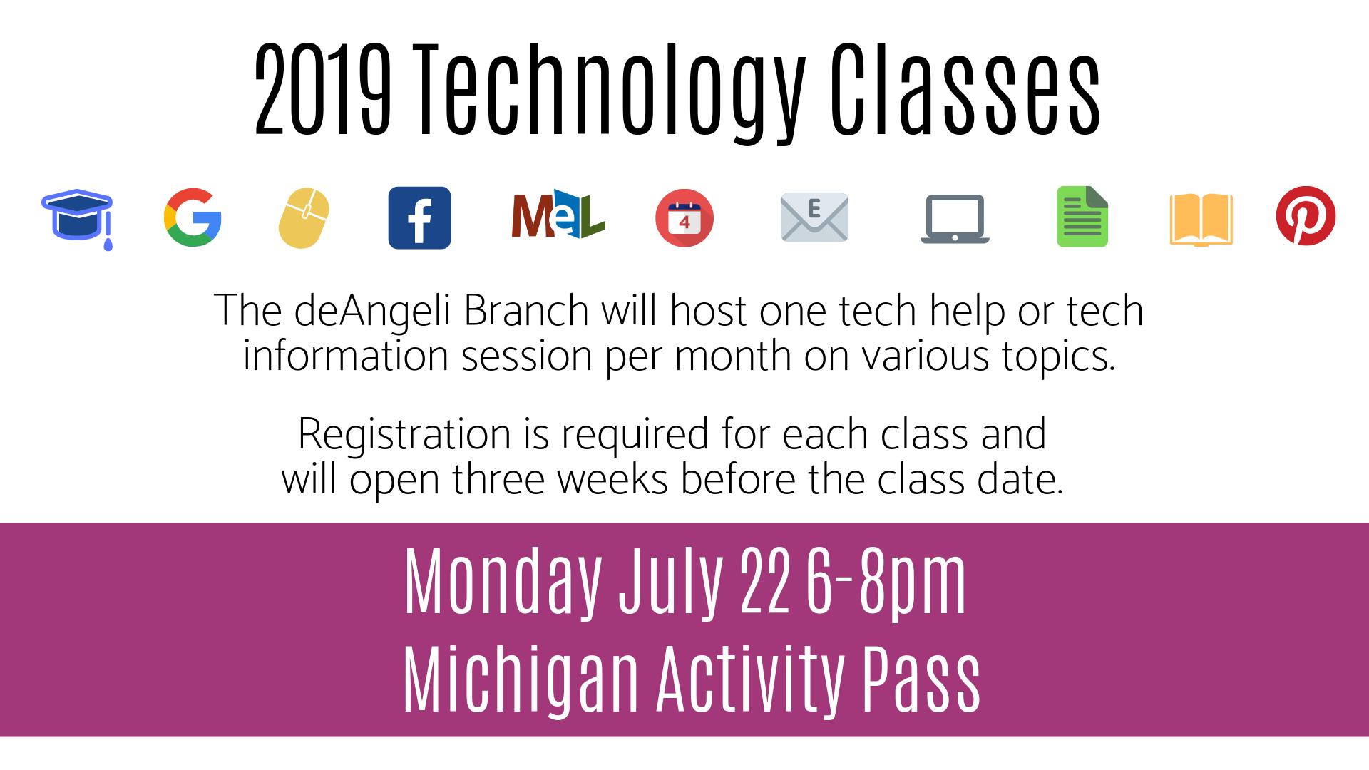 Michigan Activity Pass Technology Session