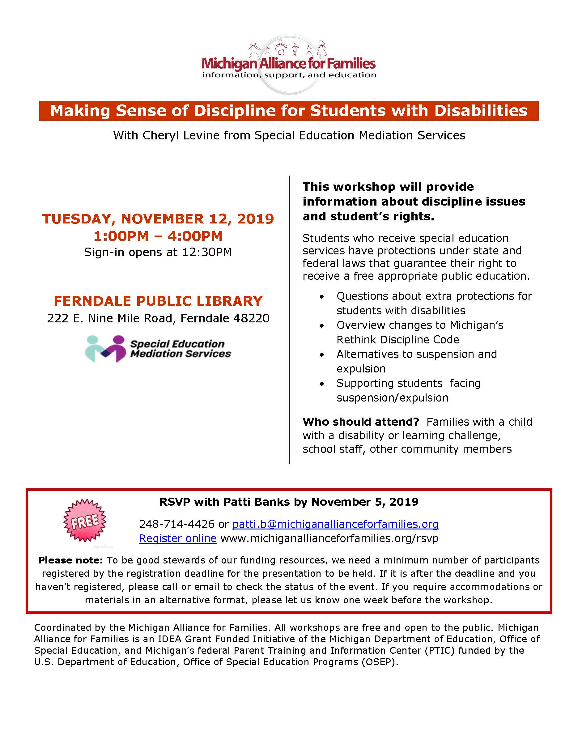 Making Sense of Discipline for Students with Disabilities