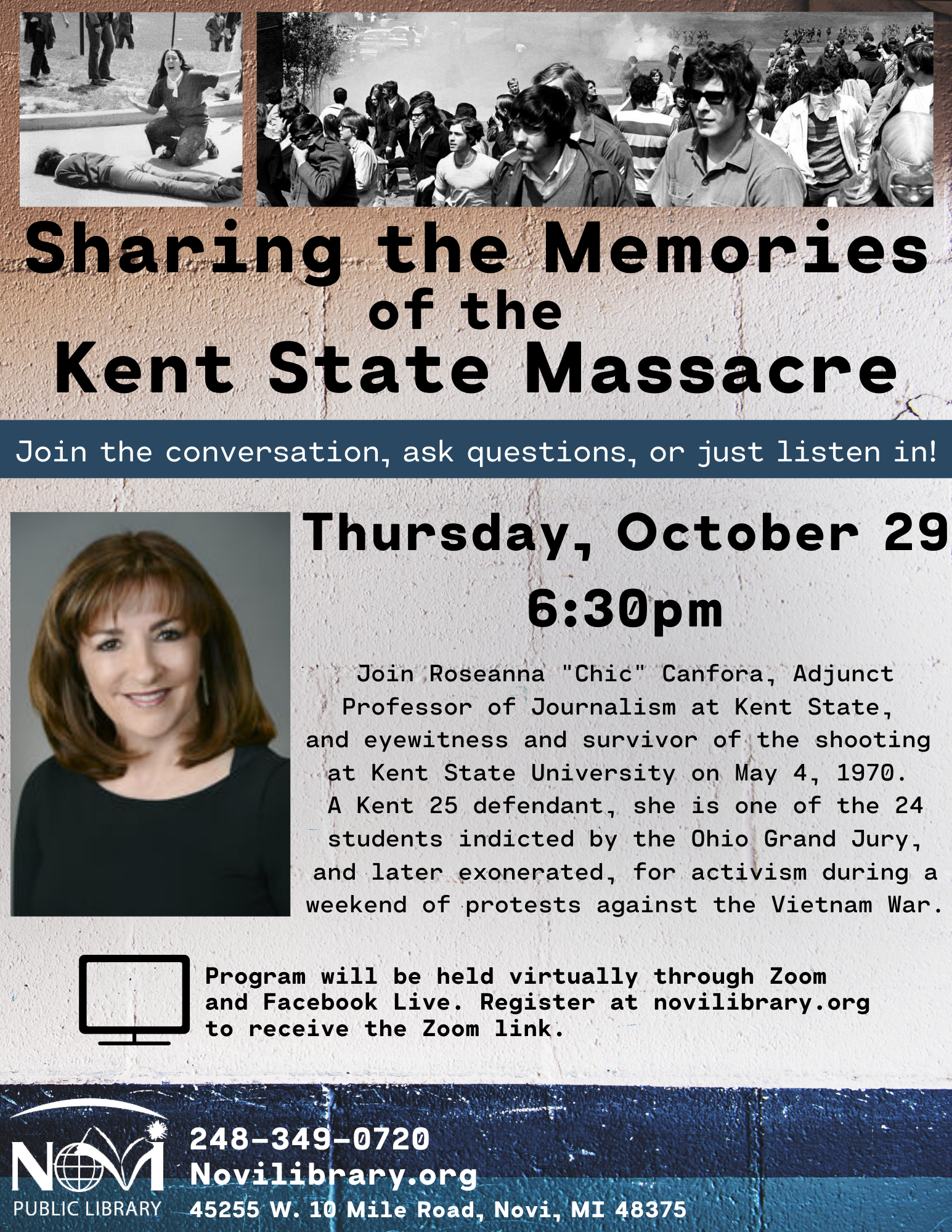 Sharing the Memories of the Kent State Massacre