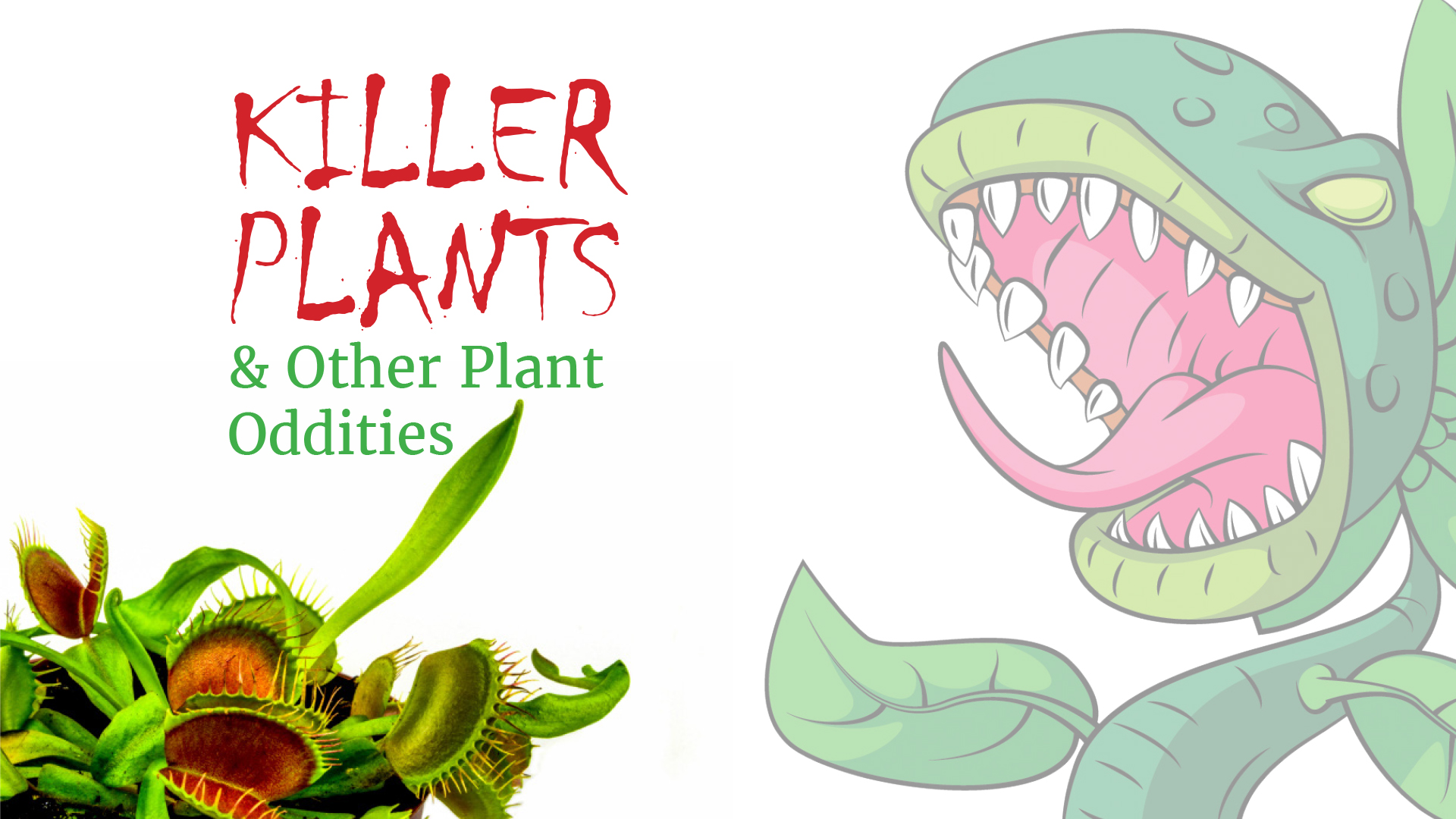 Killer Plants & Other Plant Oddities