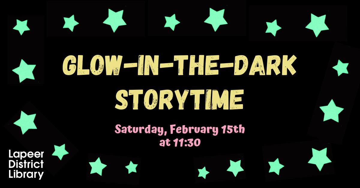 Glow in the Dark Storytime