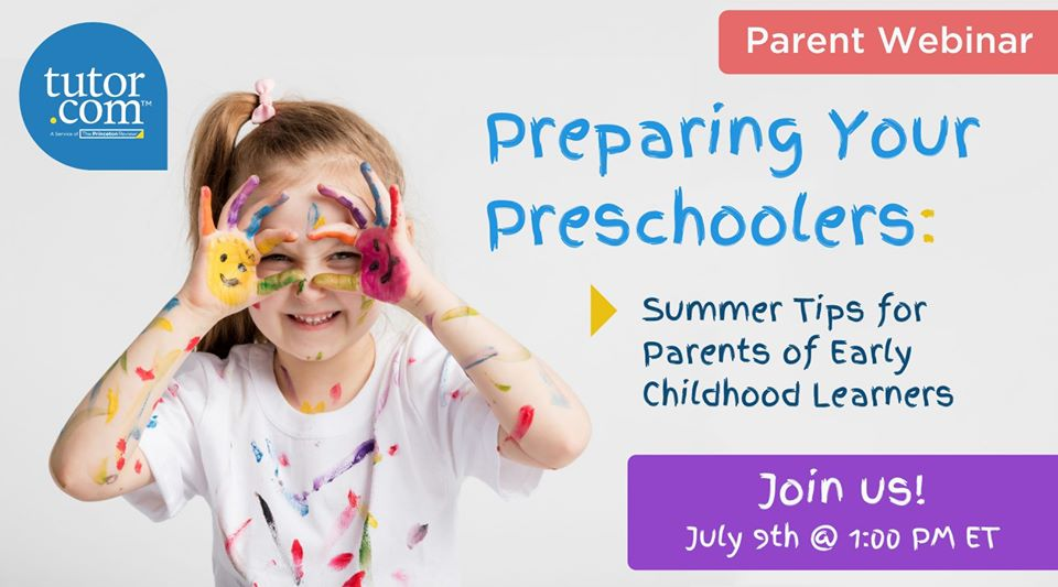 Preparing Your Preschooler with Tutor.com