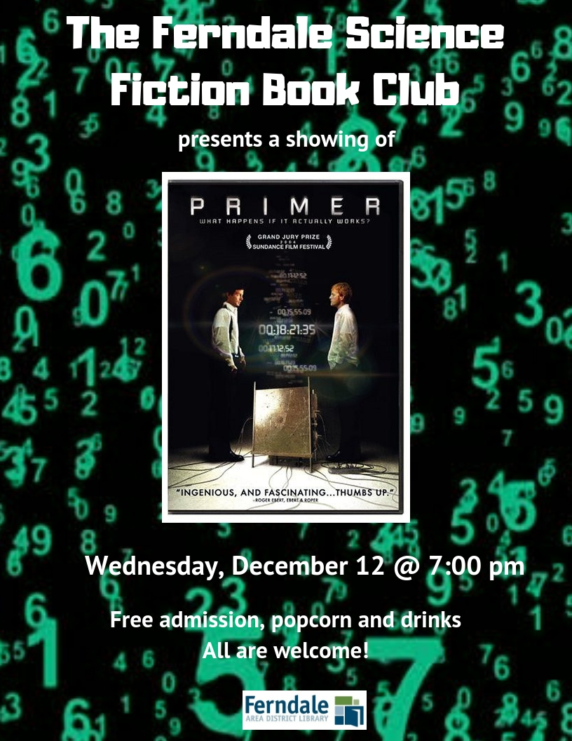 Science Fiction Book Club Presents a Screening of